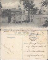 Carte Postale - Loango : Aux Funérailles D'un Chef (Cliché C.M.) / TP Décollé - Ansichtskarten
