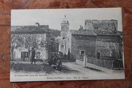 GREOUX LES BAINS (04) - RUE DE L'EGLISE - Gréoux-les-Bains