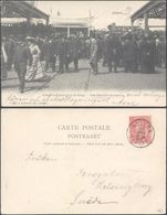 Carte Postale - Anvers : Départ Pour Le Congo, Les Derniers Moments / Voyagée - Antwerpen
