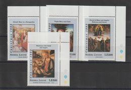 Sierra Leone 1992 Détails De Tableaux 1571-74 4 Val ** MNH - Arte