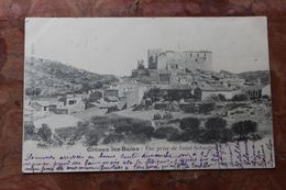 GREOUX LES BAINS (04) - VUE PRISE DE SAINT SEBASTIEN - Gréoux-les-Bains