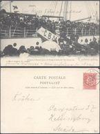 Carte Postale - Anvers : Départ Pour Le Congo à Bord De L'Anversville / Voyagée - Antwerpen