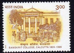 India 1999 175th Anniversary Of Calcutta Sanskrit College, MNH, SG 1839 (D) - Inde