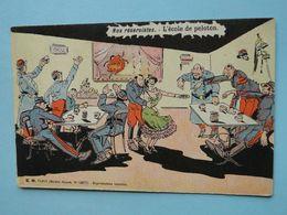 Militaria - Humour - Nos Réservistes - L'Ecole De Peloton - Humoristiques