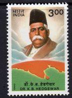 India 1999 Dr K.B. Hedgewar Commemoration, MNH, SG 1843 (D) - Neufs