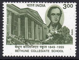 India 1999 150th Anniversary Of Bethuna Collegiate School, Calcutta, MNH, SG 1847 (D) - Neufs