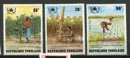 Togo   **  N° 1098 - 1100  Contre La Faim - Against Starve