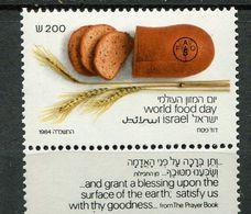 Israel **  N° 921  Contre La Faim - Against Starve