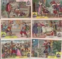 CHROMO CIBILS-REEKS 3.2.6-CYRANO DE BERGERAC-RUGZIJDE JAARKALENDER 1902-6 ST.FRANS - Autres