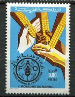 Maroc **  N° 975  Contre La Faim - Against Starve