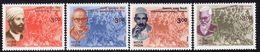 India 1999 Heroes Of Struggle For Freedom Set Of 4, MNH, SG 1857/60 (D) - Inde
