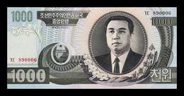 Corea 1000 Won 2002 Pick 45a SC UNC - Korea (Nord-)