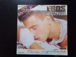 """45 T Eros Ramazzotti """" Una Storia Importante + Respiro Nel Blu """" - Vinyl Records"""