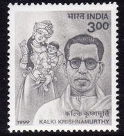 India 1999 Birth Centenary Of Kalki Krishnamurthy, MNH, SG 1861 (D) - Neufs
