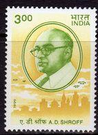 India 1999 A.D. Schroff Commemoration, MNH, SG 1871 (D) - Inde