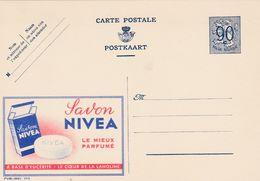 Carte Entier Postal Publibels 1113 Savon Nivea - Entiers Postaux