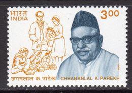India 1999 A.B. Walawalkar Commemoration, MNH, SG 1872 (D) - Inde