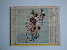 Almanach Des PTT.1977,Allier,cyclisme,football - Calendars