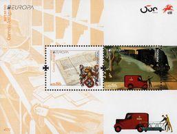 Portugal - 2020 - Europa CEPT - Ancient Postal Routes - Mint Souvenir Sheet - Unused Stamps