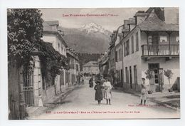 - CPA CIERP (31) - Rue De L'Hôtel-de-Ville Et Le Pic Du Gars (belle Animation) - Photo Labouche 223 - - Autres Communes
