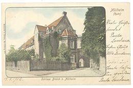 Cpa Allemagne, Mülheim Ruhr - Schloss Broich B. Mülheim - Alemania