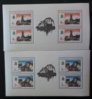 Tschechoslowakei 1989, Mi 3022-23 Kleinbogen MNH Postfrisch - Tchécoslovaquie