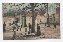 - CPA FIXIN (21) - La Campagne Artistique (belle Animation 1905) - Photo-Edition Barnaud N° 9 - - France