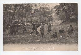 - CPA CAMP DE SOUGE (33) - La Musique 1915 (belle Animation) - Edition A. H. N° 1 - - France