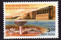 India 1999 Sri Sathya Sai Water Supply Project, MNH, SG 1884 (D) - Inde