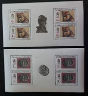 Tschechoslowakei 1990, Mi 3059+3062 Kleinbogen MNH Postfrisch - Tchécoslovaquie
