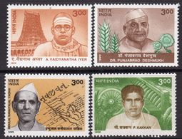 India 1999 March Of Progress Set Of 4, MNH, SG 1886/9 (D) - Inde