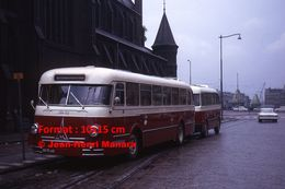 Reproduction D'unePhotographie D'un Bus Magirus RTM-52 Rotterdam-Rosestraat à Rotterdam En 1964 - Reproductions