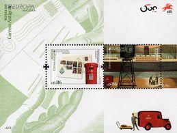 Portugal - Madeira - 2020 - Europa CEPT - Ancient Postal Routes - Mint Souvenir Sheet - Madeira
