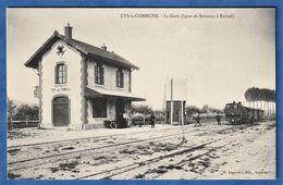CPA 02 CYS LA COMMUNE - La Gare (ligne De Soissons à Rethel) - Autres Communes