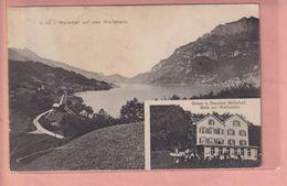 OUDE POSTKAART - ZWITSERLAND -  SCHWEIZ - PENSION - MOLS AM WALLENSEE  1910 - SG St. Gall
