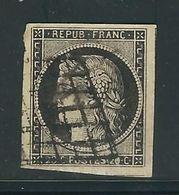 FRANCE N° 3  Obl. TTB - 1849-1850 Cérès