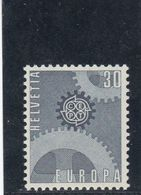 Suisse - Année 1967 - Neuf** - N°Zumstein 448** - Europa - Suisse