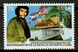 Cuba 2018 / Che Guevara MNH Santa Clara Battle / Cu12337  C3-7 - Nuevos