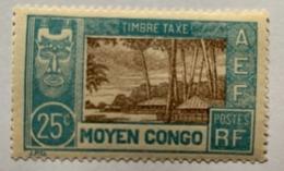 Congo 1930 Y Et T  T15* - Unused Stamps