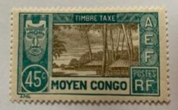 Congo 1930 Y Et T  T17* - Unused Stamps