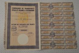 Cie De Transports D'Ile Et Vilaine Et Extensions à Rennes - Transports
