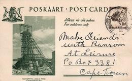 Serie Entier Postal 1 1/2d - Postcard South Africa: Goudmyn - Gold Mine Johannesburg - Collections, Lots & Séries