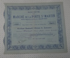 Marché De La Porte Saint Martin - Agriculture