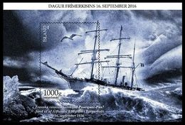 Iceland 2016.  80th Memorial Anniversary Ship Pourquoi-Pas. Ships. MNH - 1944-... Republic