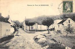 CPA HAMEAU DU PONT DE DORDIVES - Dordives