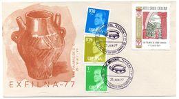Carta  Matasellos Commemorativo Exfilma 1977 - 1931-Hoy: 2ª República - ... Juan Carlos I