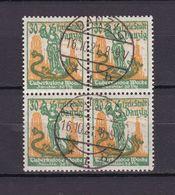 Danzig - 1921 - Michel Nr. 90 Viererblock - Gestempelt - Dantzig