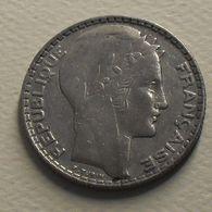 1929 - France - 10 FRANCS, Turin, Argent, Silver, KM 878, Gad 801 - K. 10 Franchi