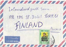 Iraq 1968 A Cover To Finland - Iraq