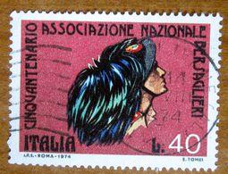 1974 ITALIA Militari Reggimenti Bersaglieri Italian  Guards - Lire 40 Usato - 1971-80: Gebraucht